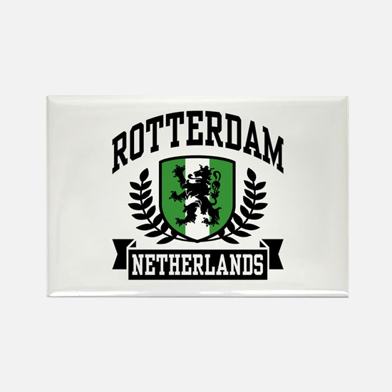 Rotterdam Netherlands Rectangle Magnet