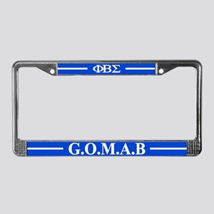 Sigma License Plate Frame