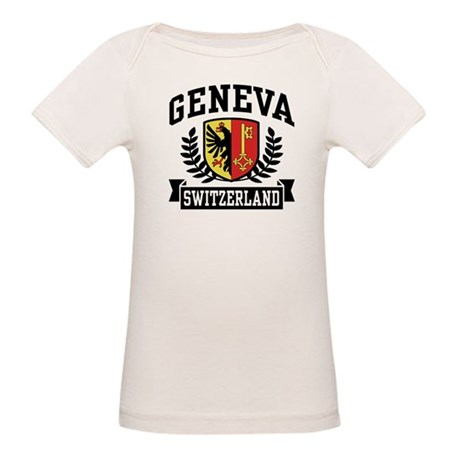 Geneva Switzerland Organic Baby T-Shirt