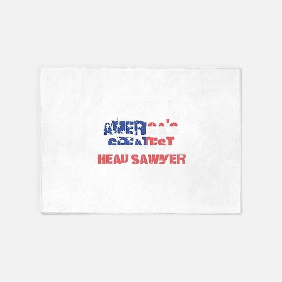 America's Greatest Head Sawyer 5'x7'Area Rug