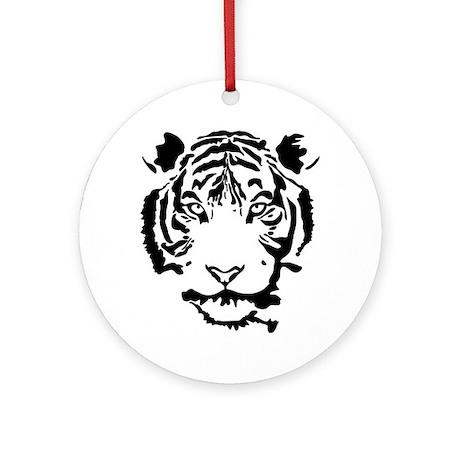 Stalking Tiger Ornament (Round)
