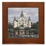 New Orleans Art Framed Tile