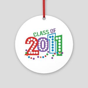 Class 11 Celebration Ornament (Round)
