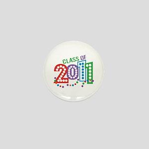 Class 11 Celebration Mini Button