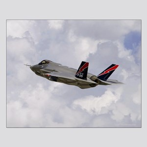 F-35A Lightning II Small Poster
