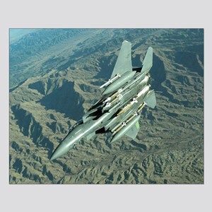 Air Force F-15E Small Poster