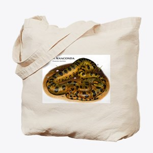 Green Anaconda Tote Bag