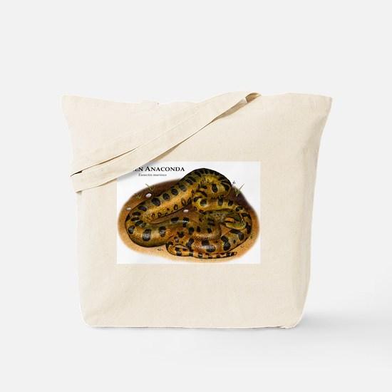Green Anaconda Tote Bag