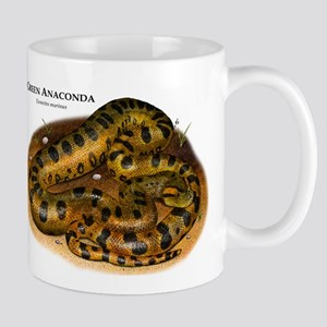 Green Anaconda Mug