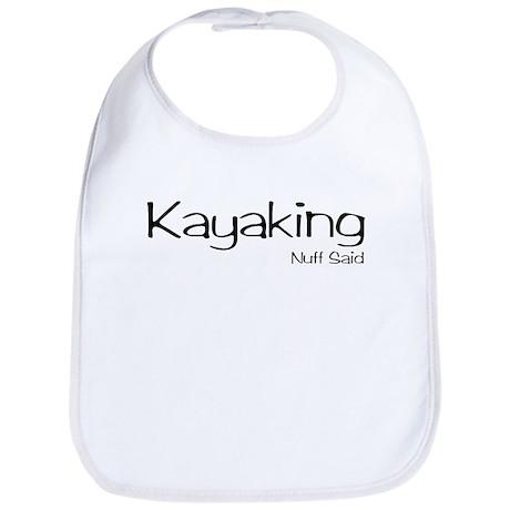 Kayaking. Nuff Said Bib