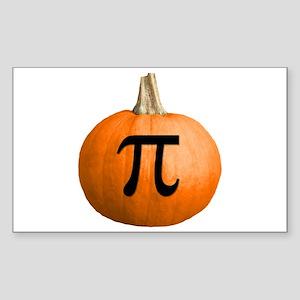 Pumpkin Pie Sticker (Rectangle)