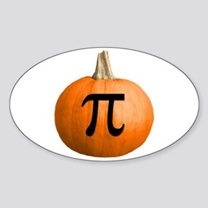 Pumpkin Pie Sticker (Oval)