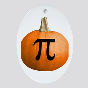 Pumpkin Pie Ornament (Oval)