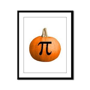 Pumpkin Pie Framed Panel Print