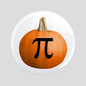 """Pumpkin Pie 3.5"""" Button"""