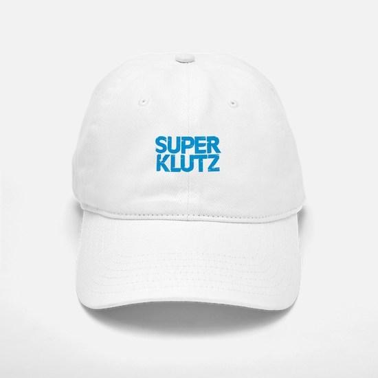 Super Klutz - Blue Baseball Baseball Cap