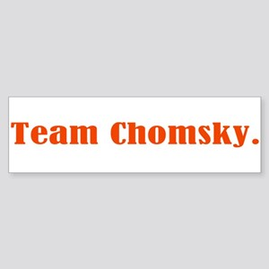 Team Chomsky Sticker (Bumper)