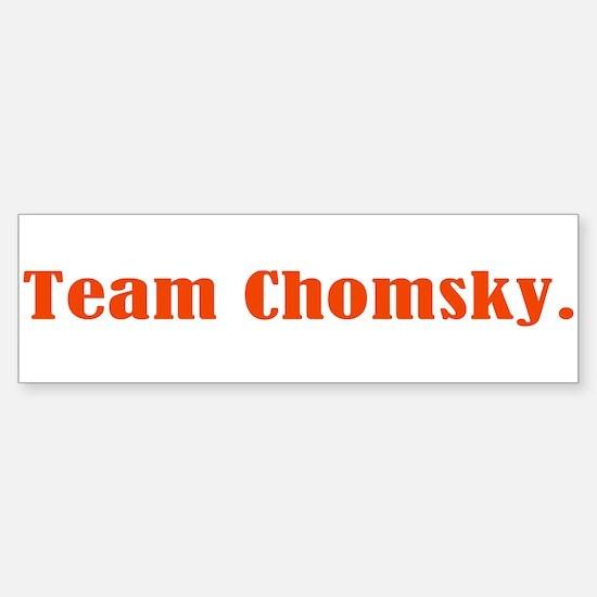 Team Chomsky Sticker (Bumper)