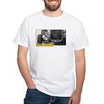 Rat Rod Rockers! Approaching White T-Shirt