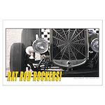 Rat Rod Rockers! Approaching Large Poster