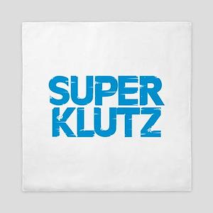 Super Klutz - Blue Queen Duvet