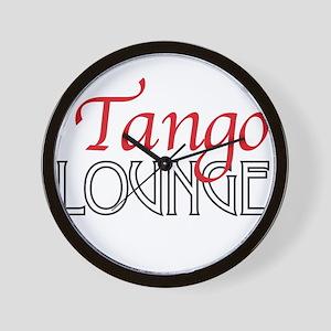 Tango Lounge Wall Clock