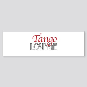 Tango Lounge Sticker (Bumper)