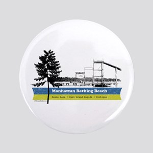 "Manhattan Beach 3.5"" Button"