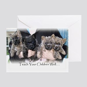 """""""Teach Your Children Well"""" Greeting Card"""