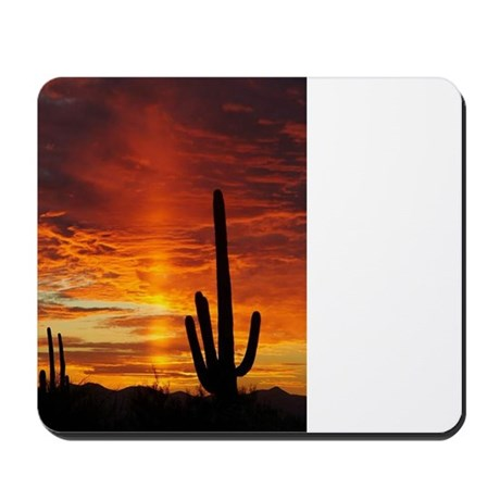 Saquaro Sunset Mousepad
