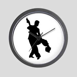 Couple Silhoutte Wall Clock