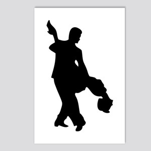 Couple Silhoutte Postcards (Package of 8)