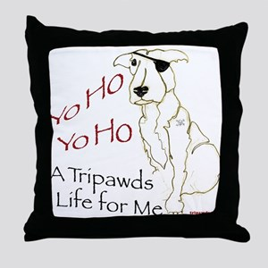 A Tripawds Life Throw Pillow