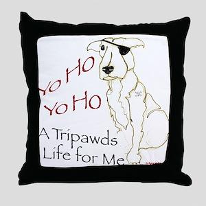 A Tripawds Life Throw Pillow