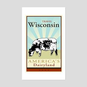 Travel Wisconsin Sticker (Rectangle)