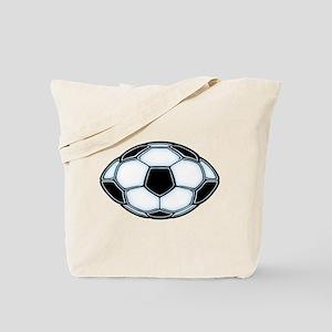 Soocerfootball Ball Tote Bag