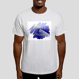 Klutzy & Proud Ash Grey T-Shirt
