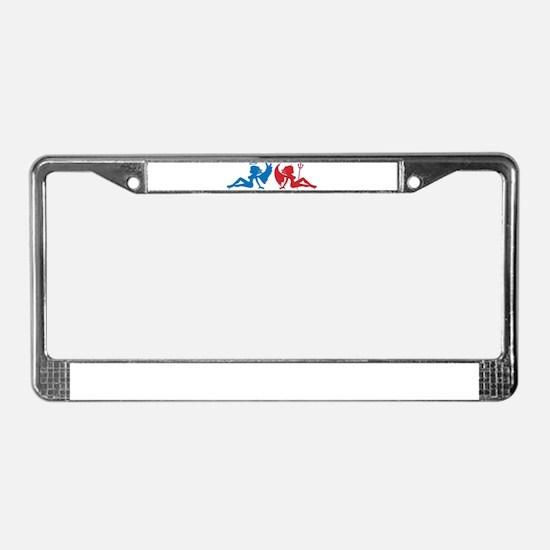 Unique Babe License Plate Frame