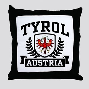 Tyrol Austria Throw Pillow