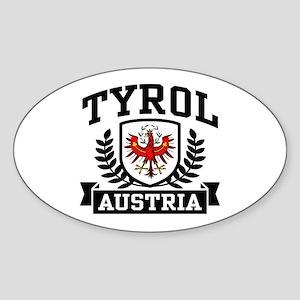 Tyrol Austria Sticker (Oval)