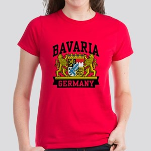 Bavaria Germany Women's Dark T-Shirt
