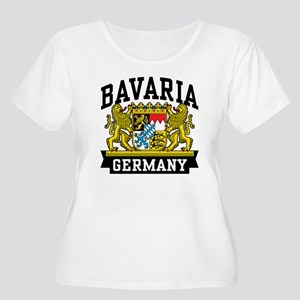 Bavaria Germany Women's Plus Size Scoop Neck T-Shi