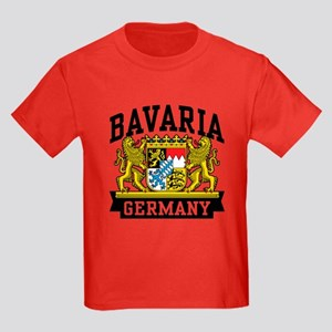 Bavaria Germany Kids Dark T-Shirt