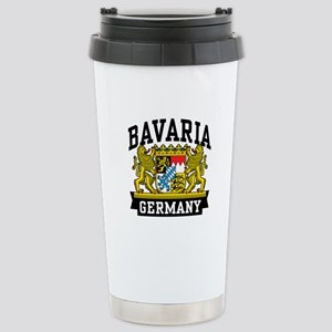 Bavaria Germany Stainless Steel Travel Mug