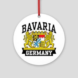 Bavaria Germany Ornament (Round)