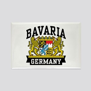 Bavaria Germany Rectangle Magnet