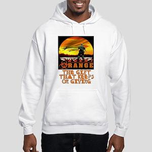 AGENT ORANGE SUN Hooded Sweatshirt