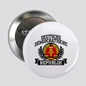 """East Germany Coat of Arms 2.25"""" Button"""
