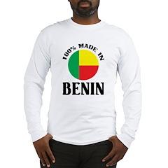 Made In Benin Long Sleeve T-Shirt