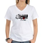 Ed Chigliak Films Women's V-Neck T-Shirt
